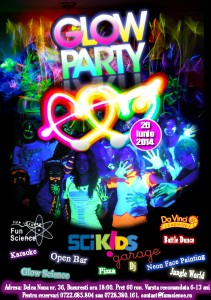 poster glow party