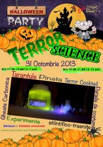 Poster Terror Science mic